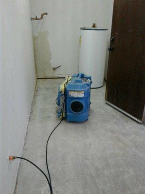 Water Heater Leak Restoration in Trabuco CA by West Coast Restoration Inc